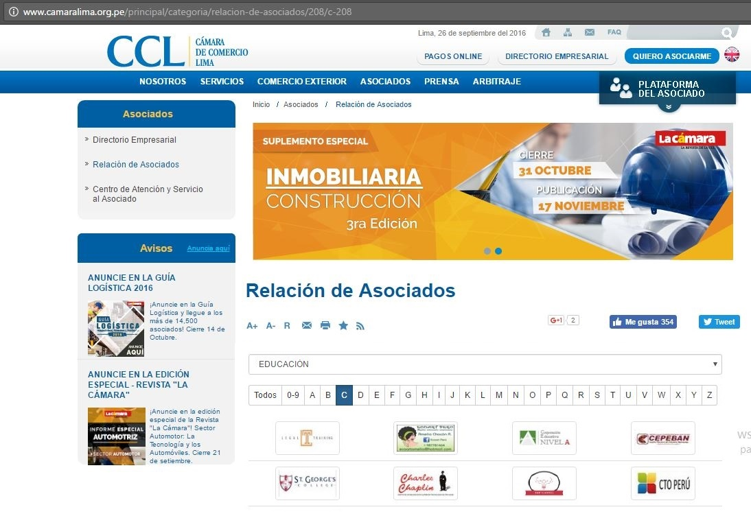 Auspicio CCL